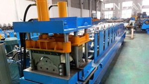 Ridge Cap roll damezrandina machine