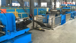 Cable Tray roll makine formimin