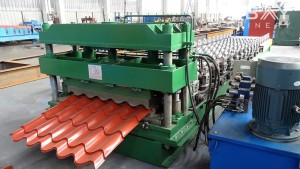 Roofing roll Wand machine damezrandina