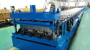Cheap price Gutter Downpipe Roll Forming Machine -