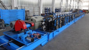 Factory Outlets C Channel Purline Roll Forming Machine -