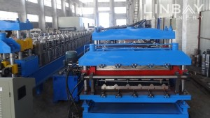 Double roll Layer Panel damezrandina machine