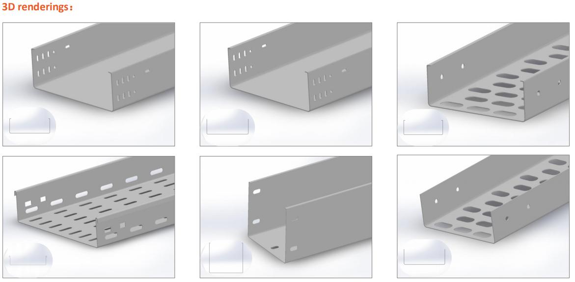 3D CADケーブルトレイロール成形機(4)
