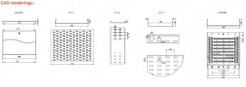 3D CADケーブルトレイロール成形機(5)