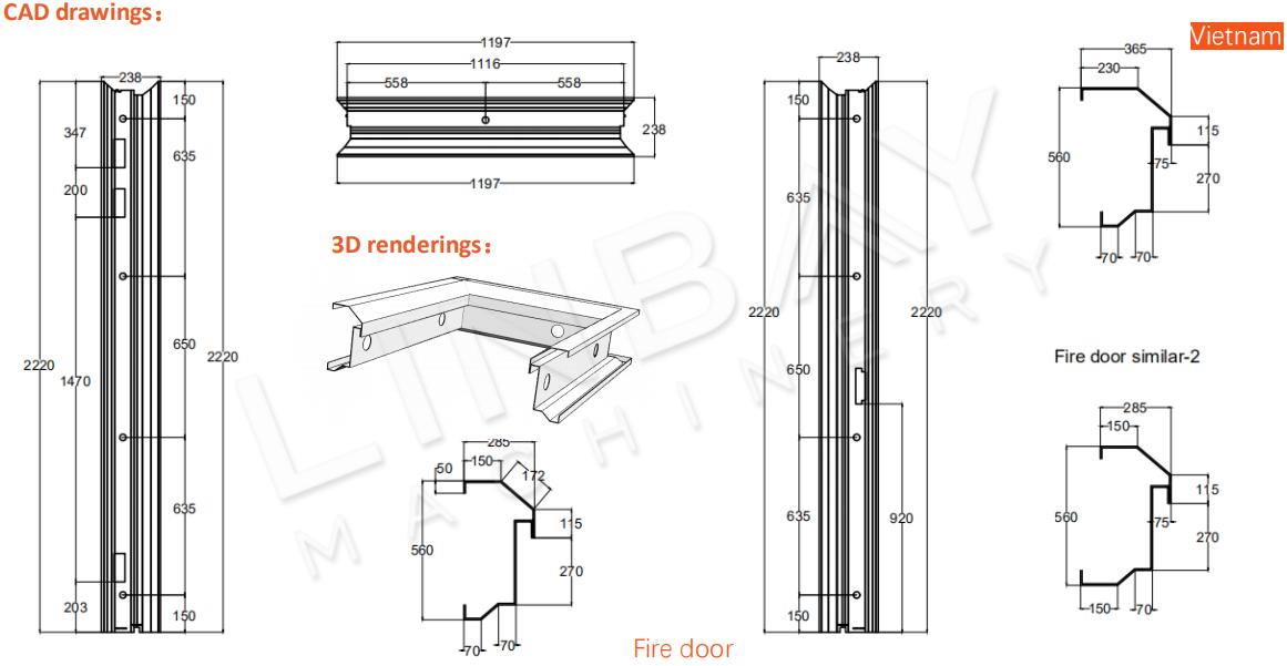 3D CADロール成形機(1)