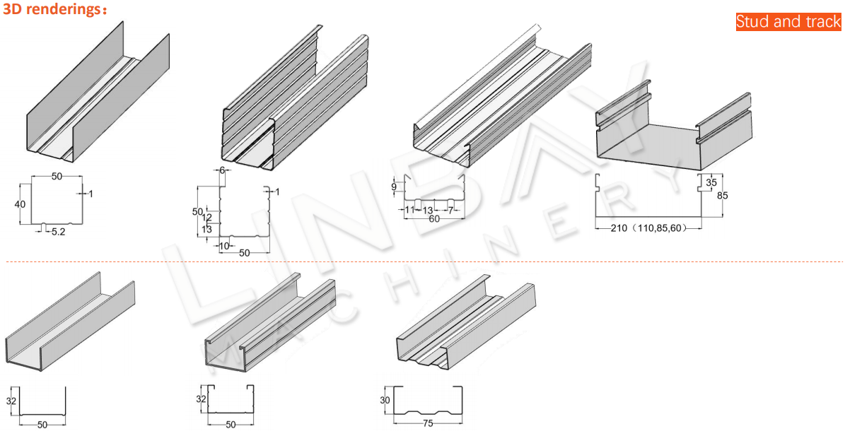 Aplikasi Drywall roll forming machine (6)