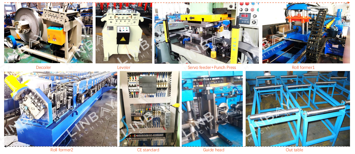 Din rail roll forming machine (3)