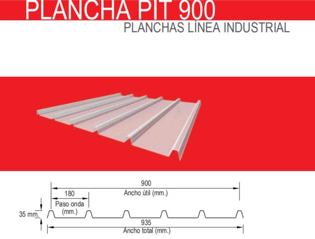 PLANCHA PIT 900