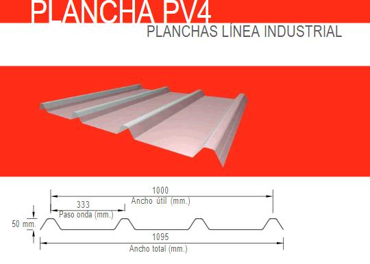 PLANCHA PV4