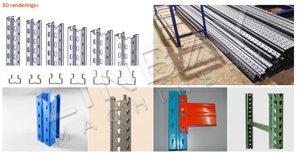 Mesin Roll Forming Rack Pallet Tegak 3D-5