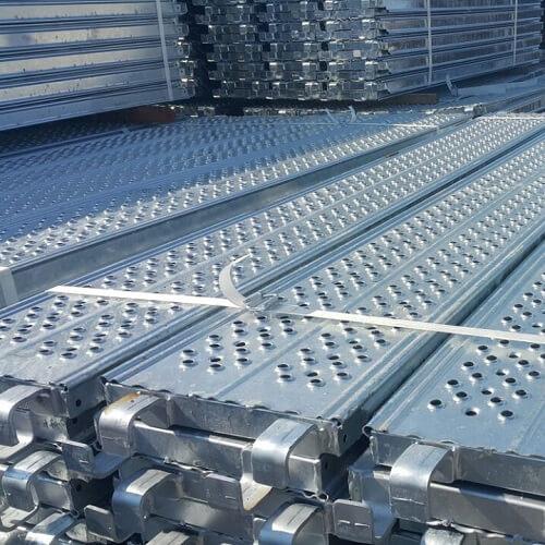 Scaffold plank roll forming machine (1)