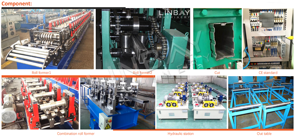 Step Beam Roll Forming Machine Component