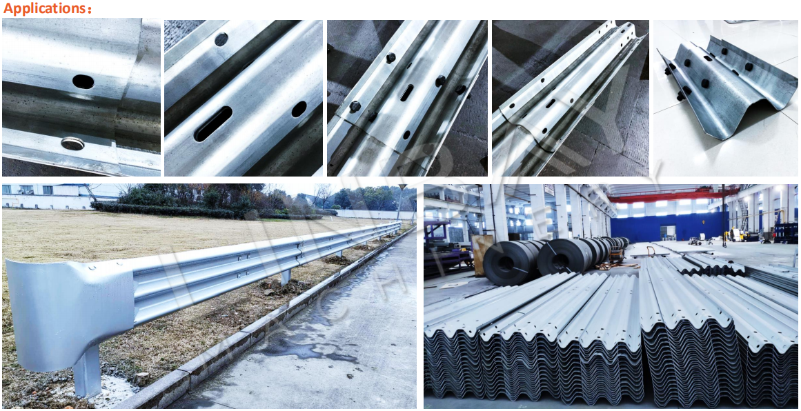 application of highway guardrail roll forming machine (5)