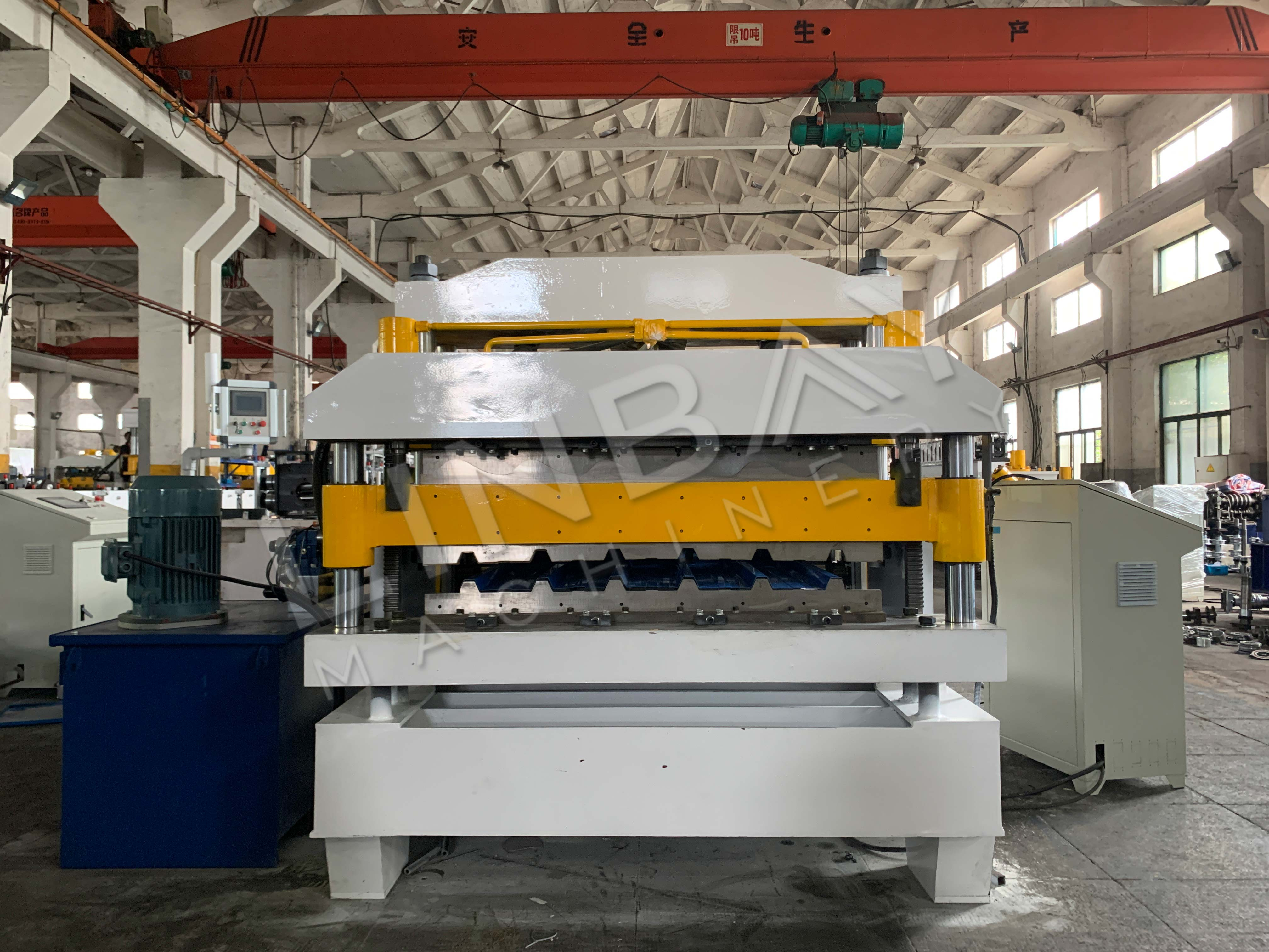 double layer roof roll forming machine (2)