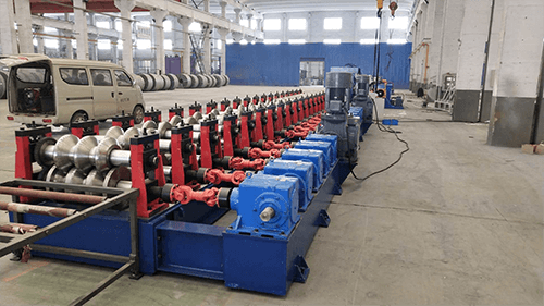 highway guardrail roll forming machine (1)
