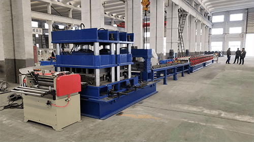 highway guardrail roll forming machine (2)