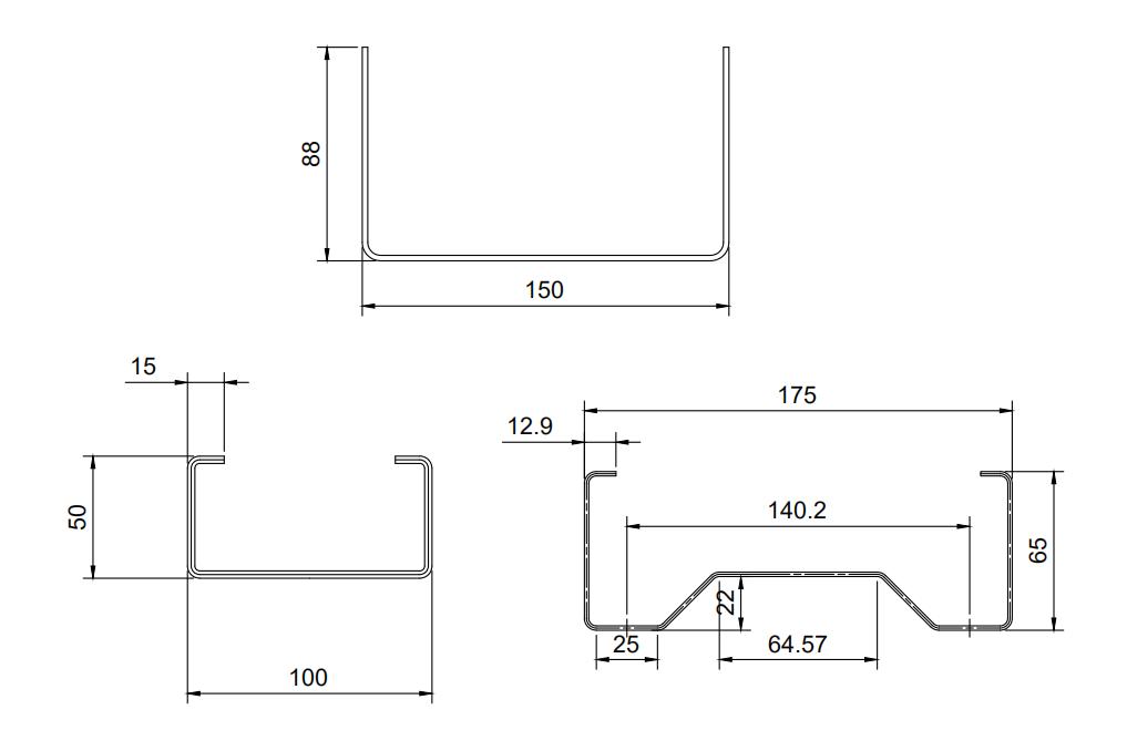 perfiladora de polines estructurales