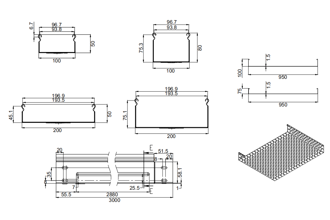 profile cable tray roll forming machine  (1)
