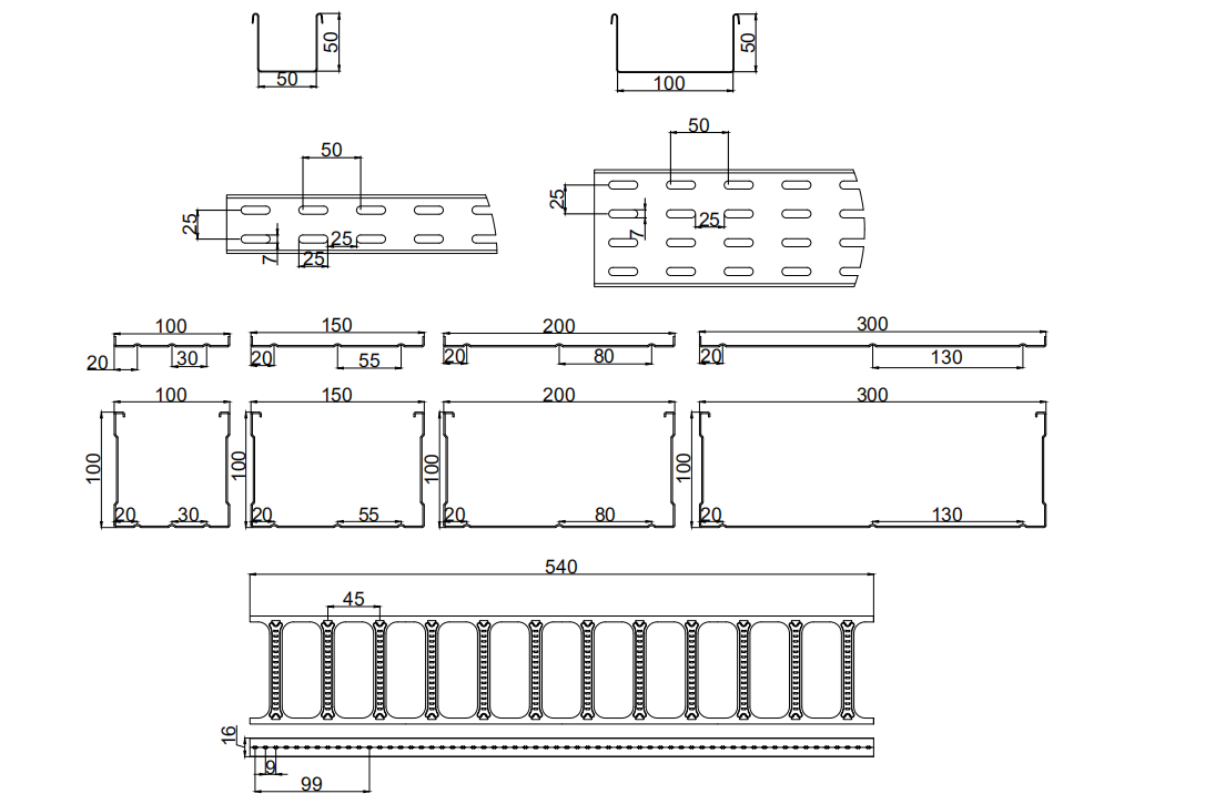 profile cable tray roll forming machine  (3)