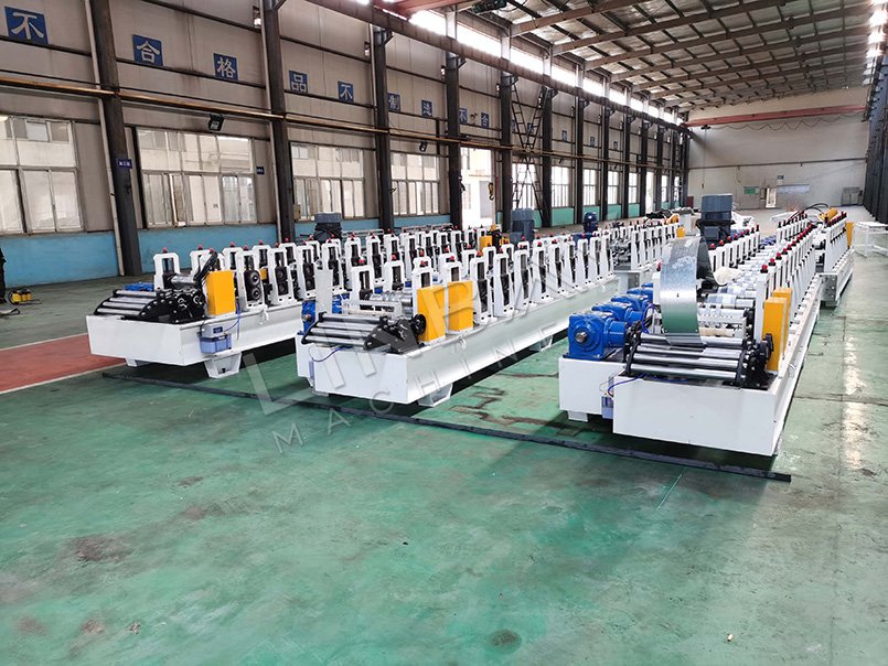 solar rack roll forming machine (2)